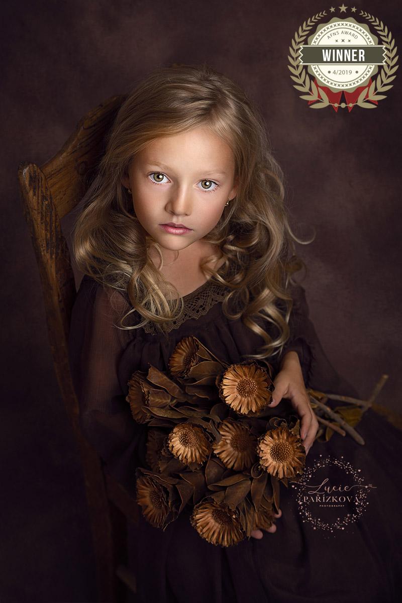 fineart portret divka praha, focení dětí v Praze, dětský portrét