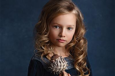 FineArt portrét, dětská fotografie, fotka jako obraz